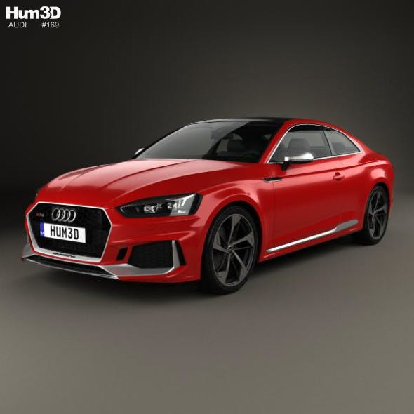 Audi RS5 Coupe 2017 - 3DOcean Item for Sale