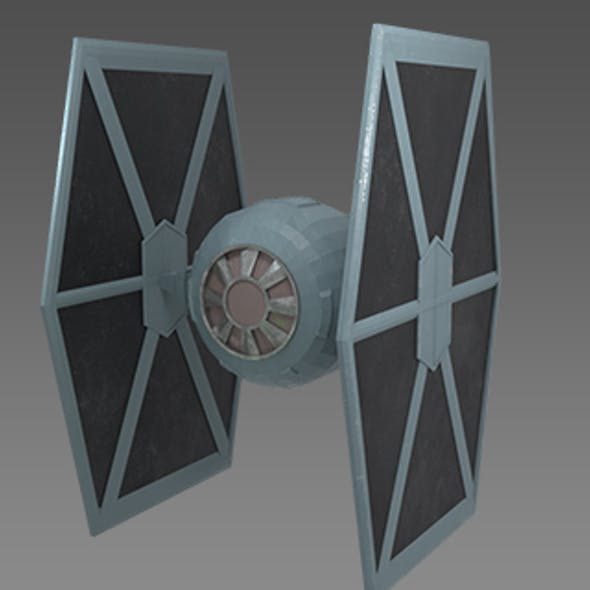 Star Wars - Tie Fighter Low Poly