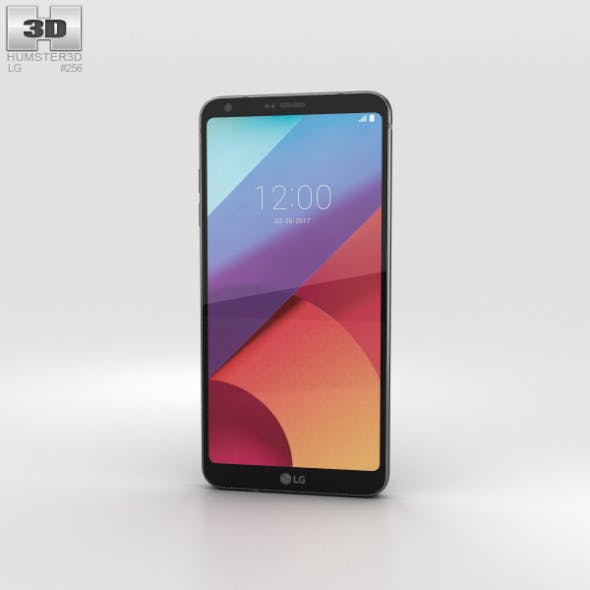 LG G6 Astro Black - 3DOcean Item for Sale