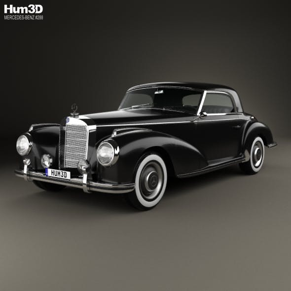 Mercedes-Benz 300 (W188) S Coupe 1951 - 3DOcean Item for Sale