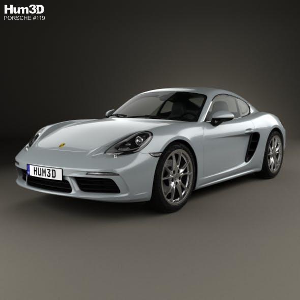 Porsche Cayman 718 (982C) 2016 - 3DOcean Item for Sale