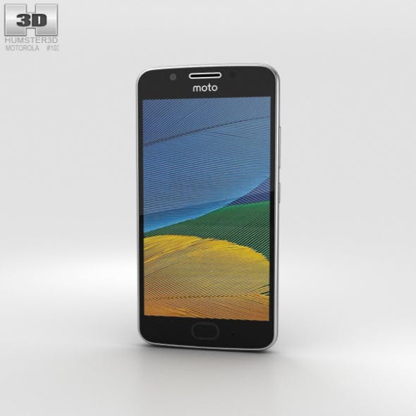 Motorola Moto G5 Lunar Grey - 3DOcean Item for Sale