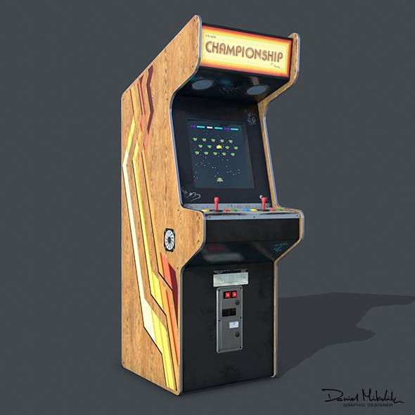 Game Machine PBR - 3DOcean Item for Sale