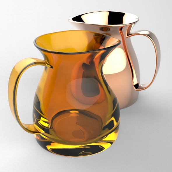 Simple Water Pitcher - 3DOcean Item for Sale