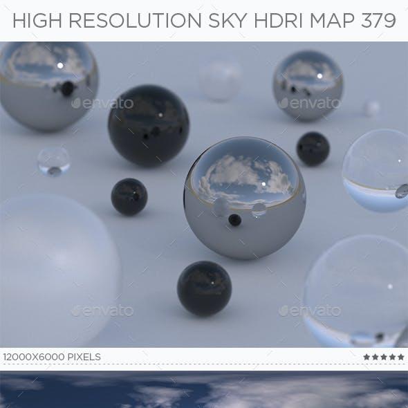 High Resolution Sky HDRi Map 379