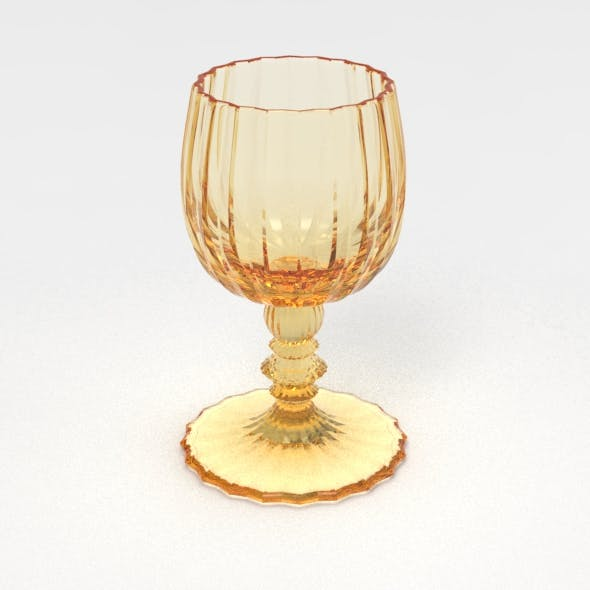 Sixty Facet Wine Glass