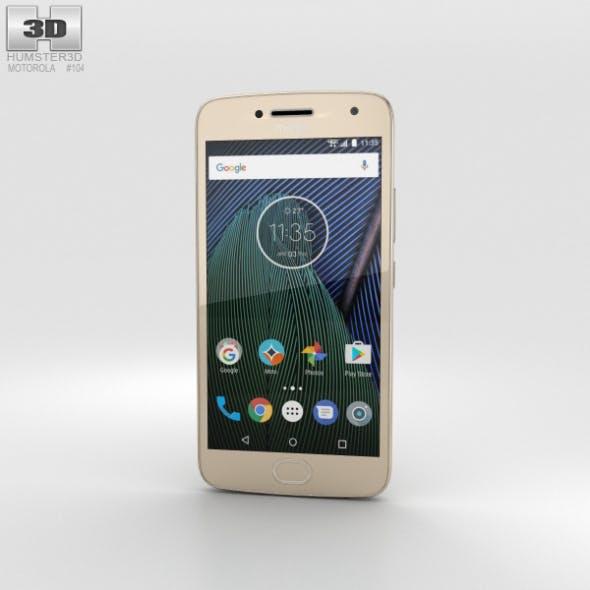 Motorola Moto G5 Plus Fine Gold - 3DOcean Item for Sale