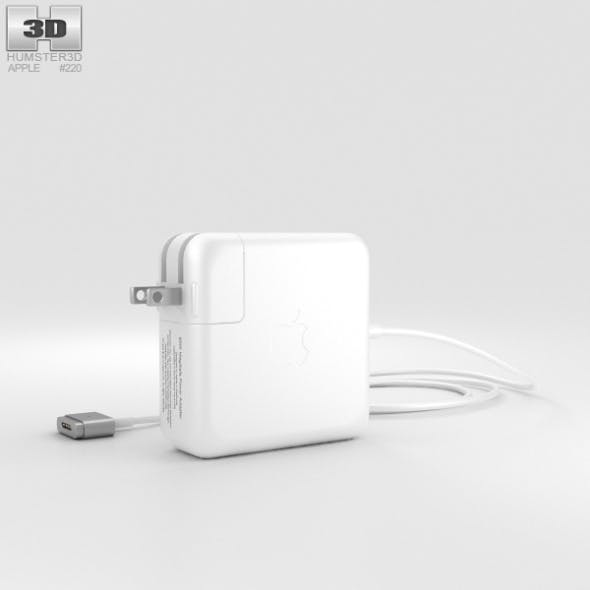 Apple 60W MagSafe 2 Power Adapter - 3DOcean Item for Sale