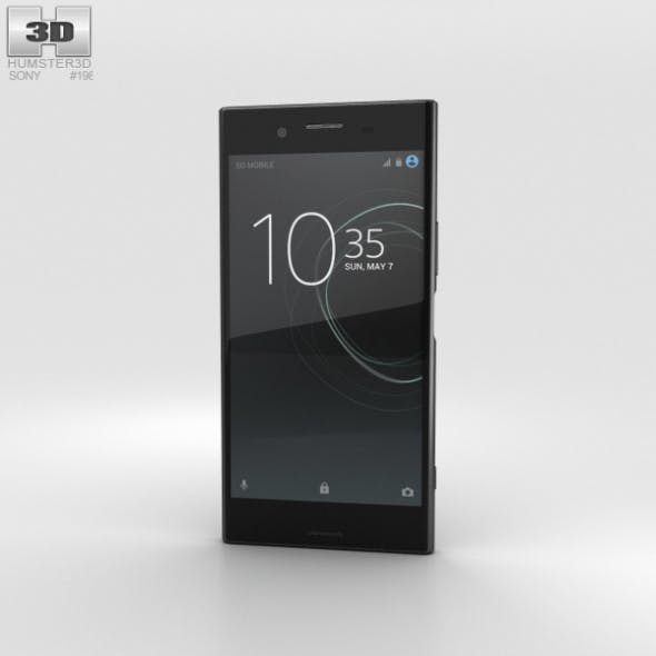 Sony Xperia XZ Premium Deepsea Black - 3DOcean Item for Sale