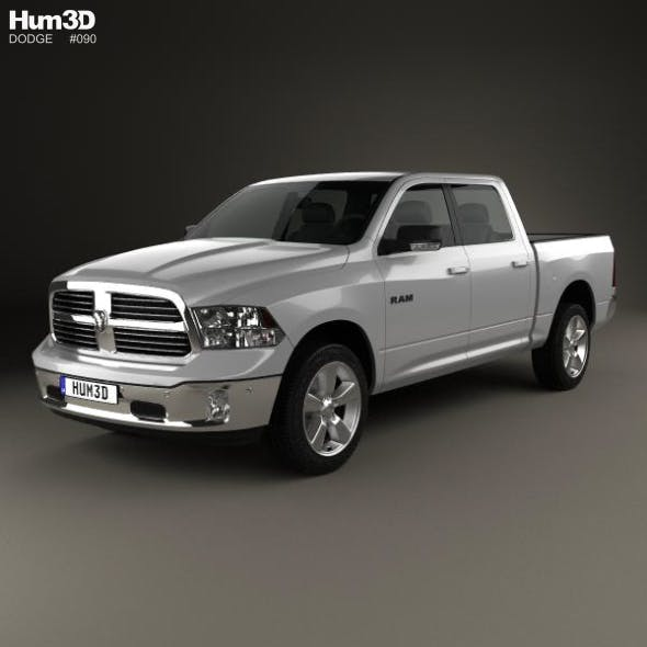 Dodge Ram 1500 Crew Cab Big Horn 2017