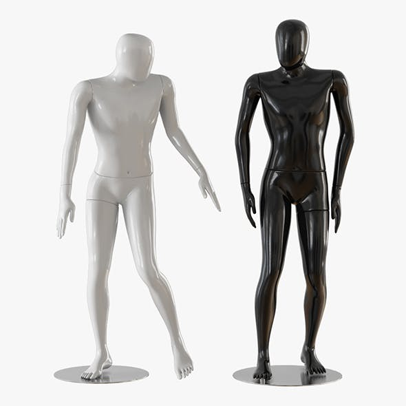 Abstract man mannequin 02