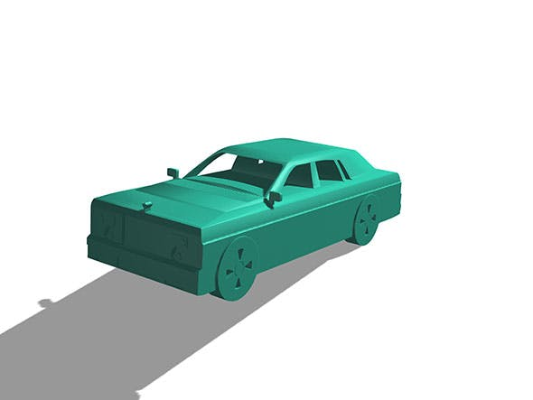 Rolls royse - 3DOcean Item for Sale