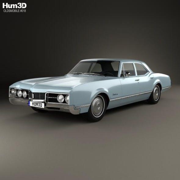 Oldsmobile 88 Delmont sedan 1967 - 3DOcean Item for Sale