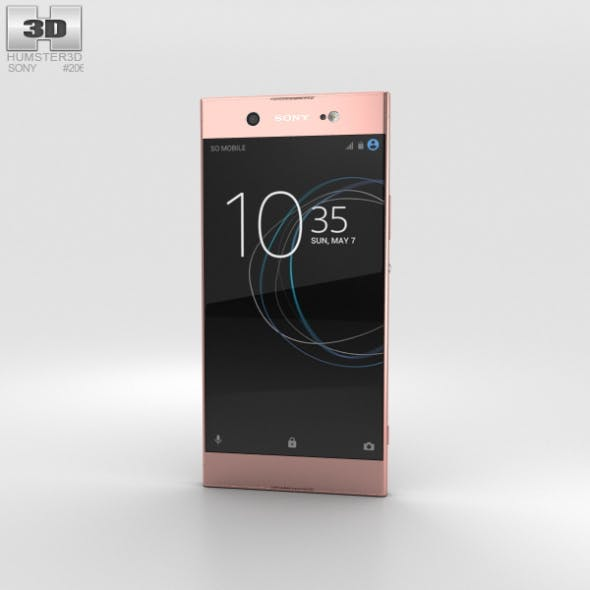 Sony Xperia XA1 Ultra Pink - 3DOcean Item for Sale