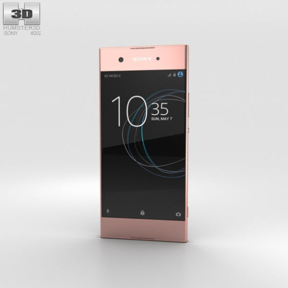 Sony Xperia XA1 Pink - 3DOcean Item for Sale