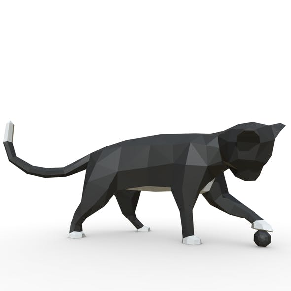 cat figure 3 - 3DOcean Item for Sale