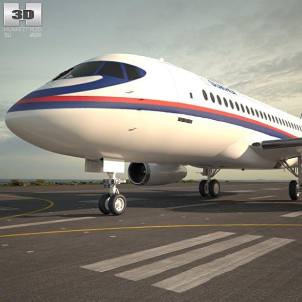 Sukhoi Superjet 100 - 3DOcean Item for Sale