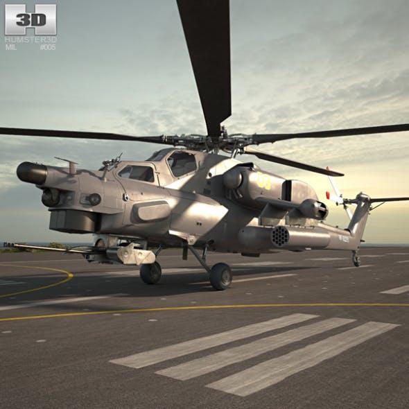 Mil Mi-28 - 3DOcean Item for Sale