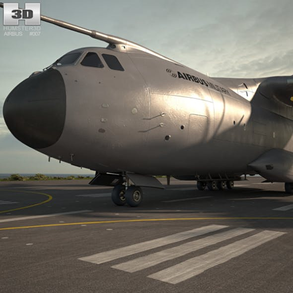 Airbus A400M Atlas - 3DOcean Item for Sale