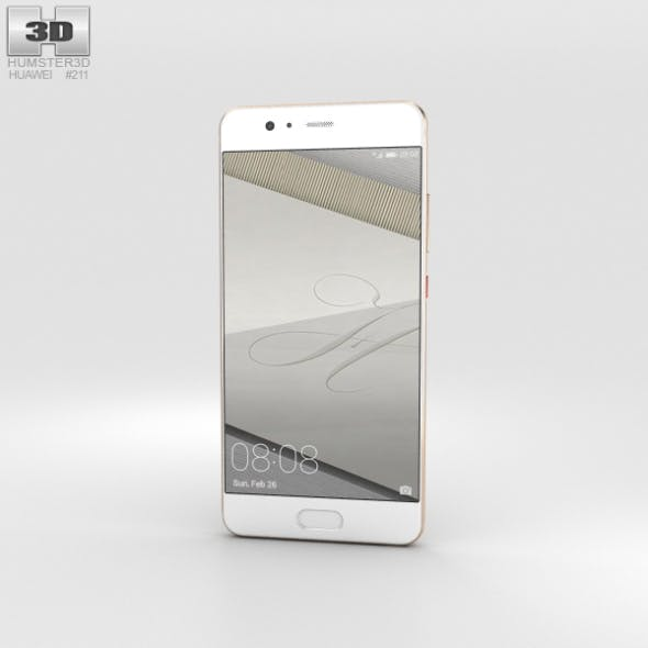 Huawei P10 Dazzling Gold - 3DOcean Item for Sale