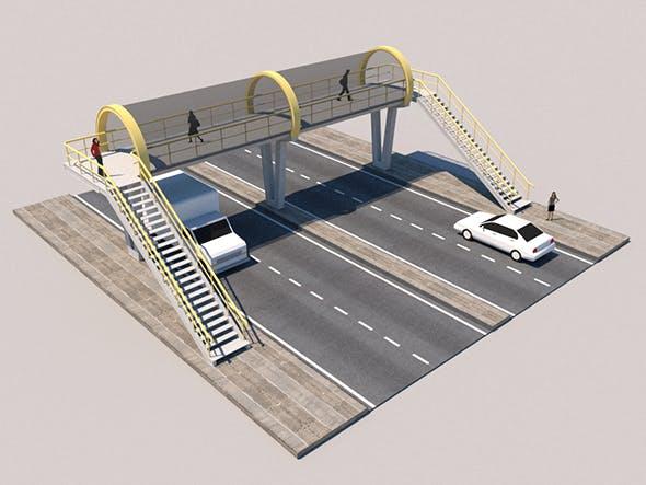 Footbridge - 3DOcean Item for Sale