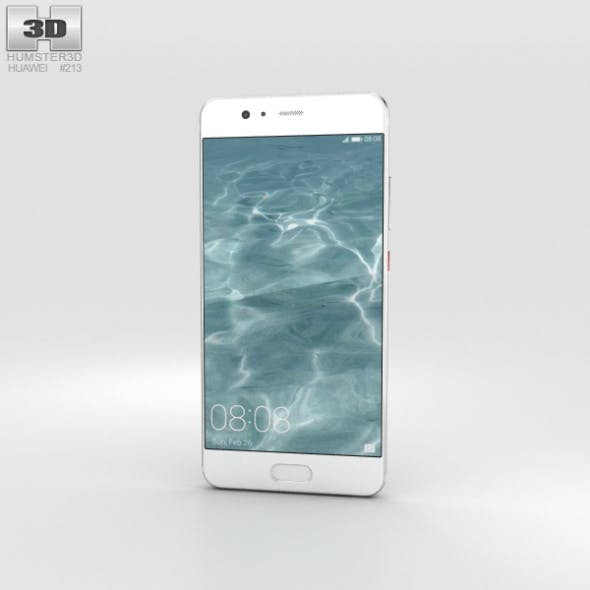 Huawei P10 Mystic Silver - 3DOcean Item for Sale