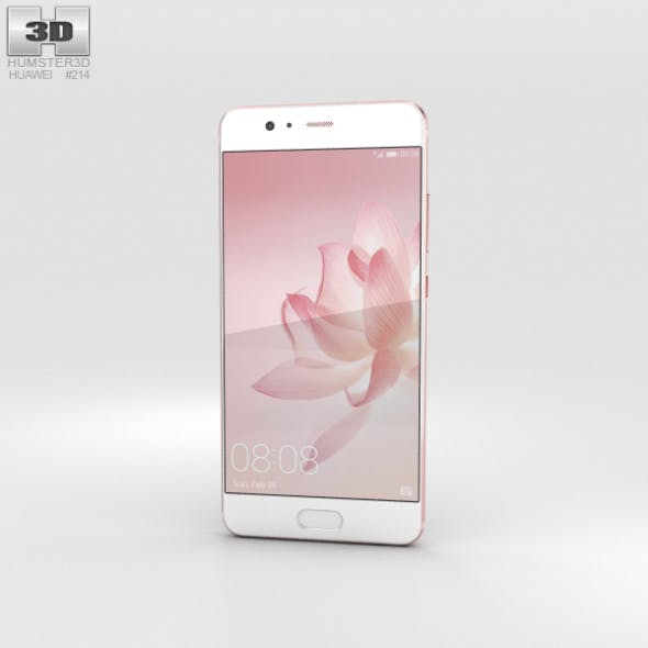 Huawei P10 Rose Gold - 3DOcean Item for Sale