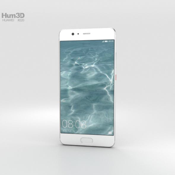 Huawei P10 Plus Mystic Silver - 3DOcean Item for Sale