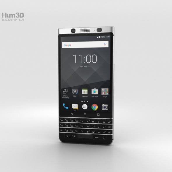 BlackBerry Keyone - 3DOcean Item for Sale