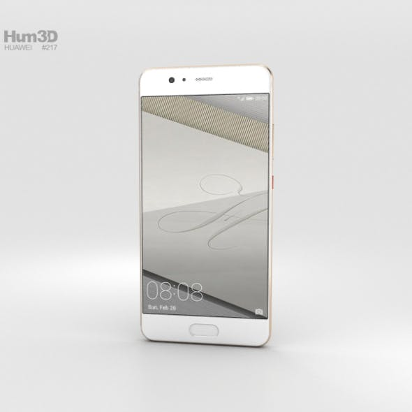 Huawei P10 Plus Dazzling Gold - 3DOcean Item for Sale
