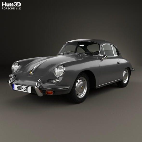 Porsche 356 SC Coupe 1963 - 3DOcean Item for Sale