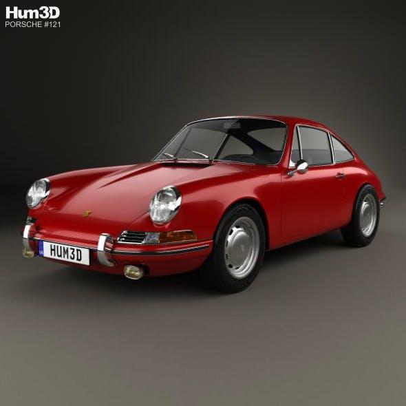 Porsche 911 Coupe Prototyp (901) 1962 - 3DOcean Item for Sale