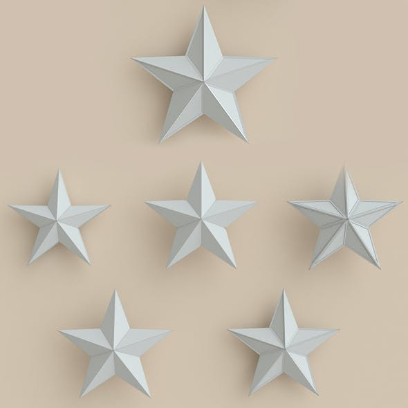 Stars, star, christmas, claus, santa, winter - 3DOcean Item for Sale
