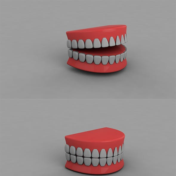 3D Teeth (Animated & Editable)
