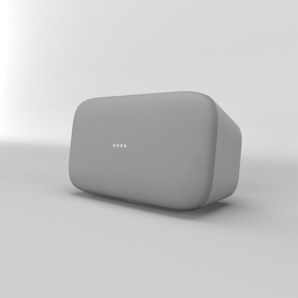Google Home Max Chalk - 3DOcean Item for Sale