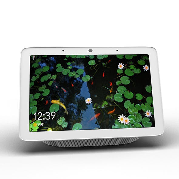 Google Home Hub Smart Display - 3DOcean Item for Sale