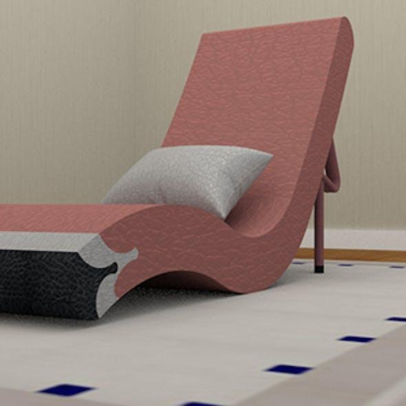 Flamingo Chaise long Chair