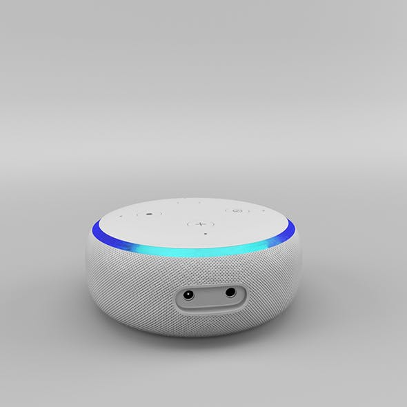 Amazon Echo Dot 3rd Generation (2018) - Sandstone