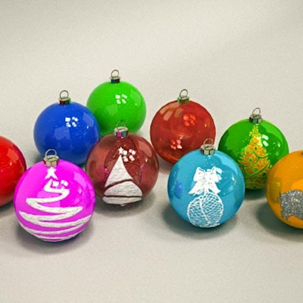 Christmas Toy Balls
