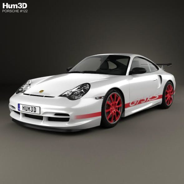 Porsche 911 GT3RS Coupe (996) 2003 - 3DOcean Item for Sale