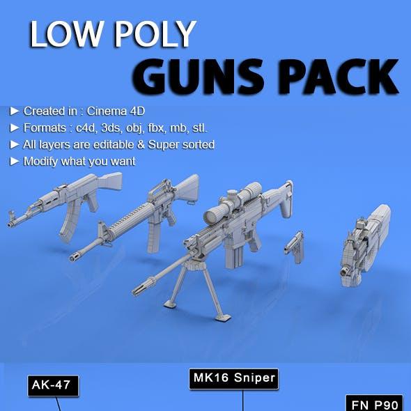 Guns Mesh Pack
