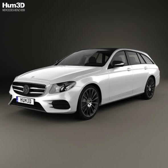 Mercedes-Benz E-Class (S213) AMG Line estate 2016 - 3DOcean Item for Sale
