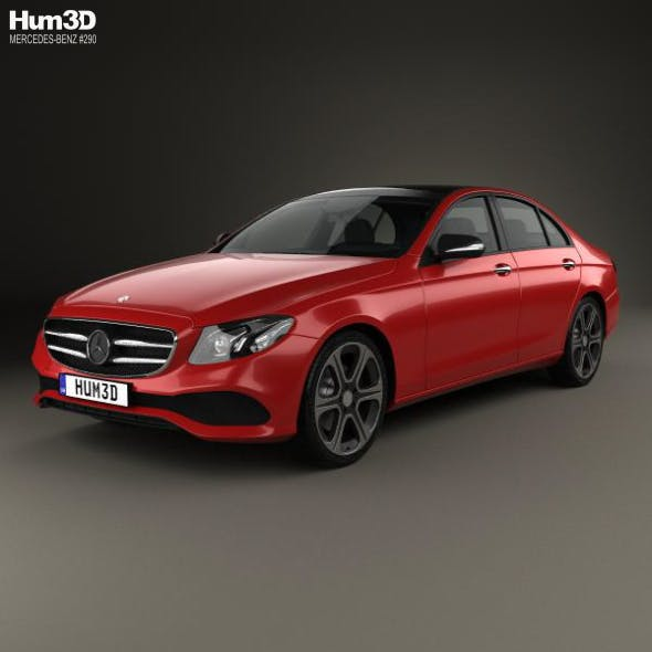Mercedes-Benz E-Class (W213) Avantgarde Line 2016 - 3DOcean Item for Sale