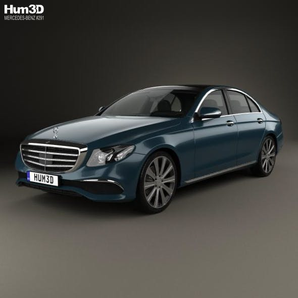 Mercedes-Benz E-Class (W213) Exclusive Line 2016