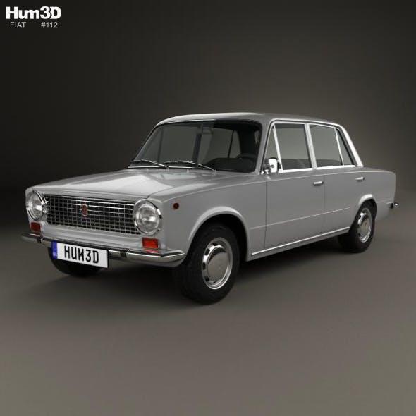 Fiat 124 1966 - 3DOcean Item for Sale