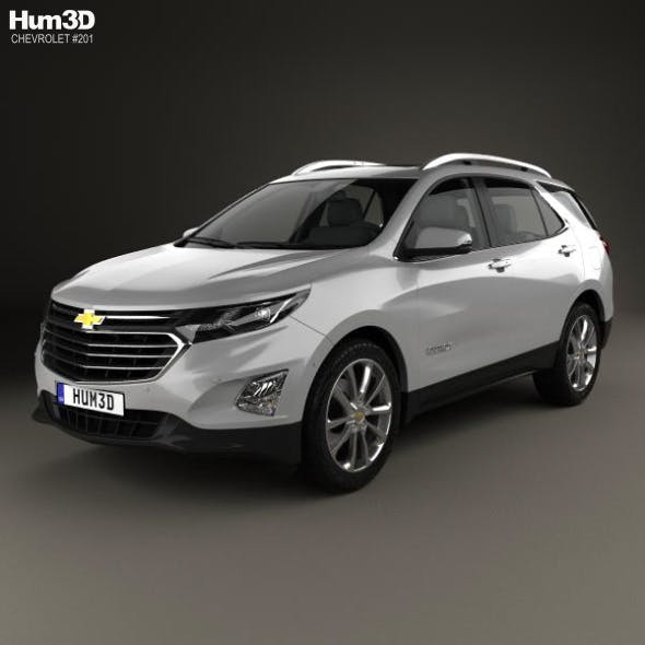 Chevrolet Equinox (CN) 2018 - 3DOcean Item for Sale
