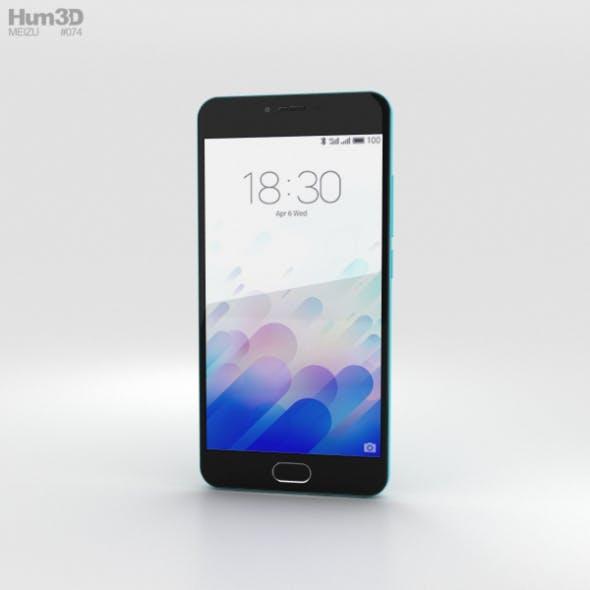 Meizu M3 Blue - 3DOcean Item for Sale