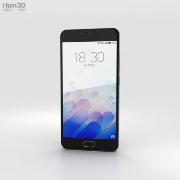 Meizu M3 Gray - 3DOcean Item for Sale