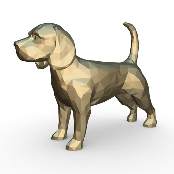 beagle dog figure