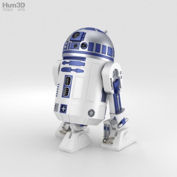 R2D2 - 3DOcean Item for Sale